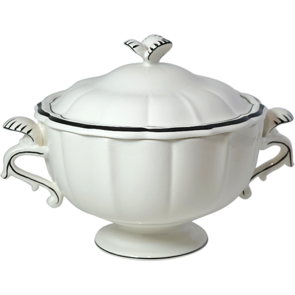 Soupiere FILET MANGANESE  3L diametre 33 cm