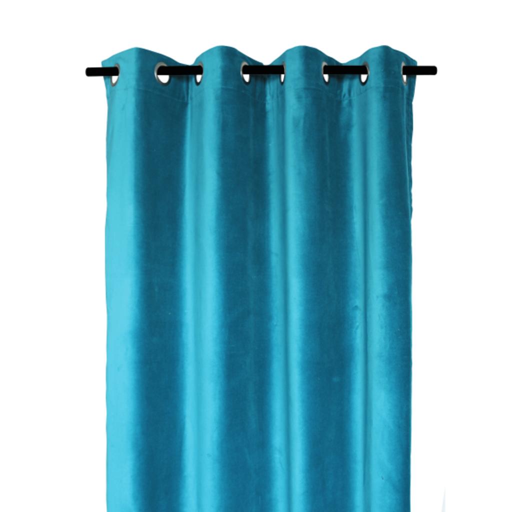 Rideaux en velours DEHLI crepuscule 135*300cm