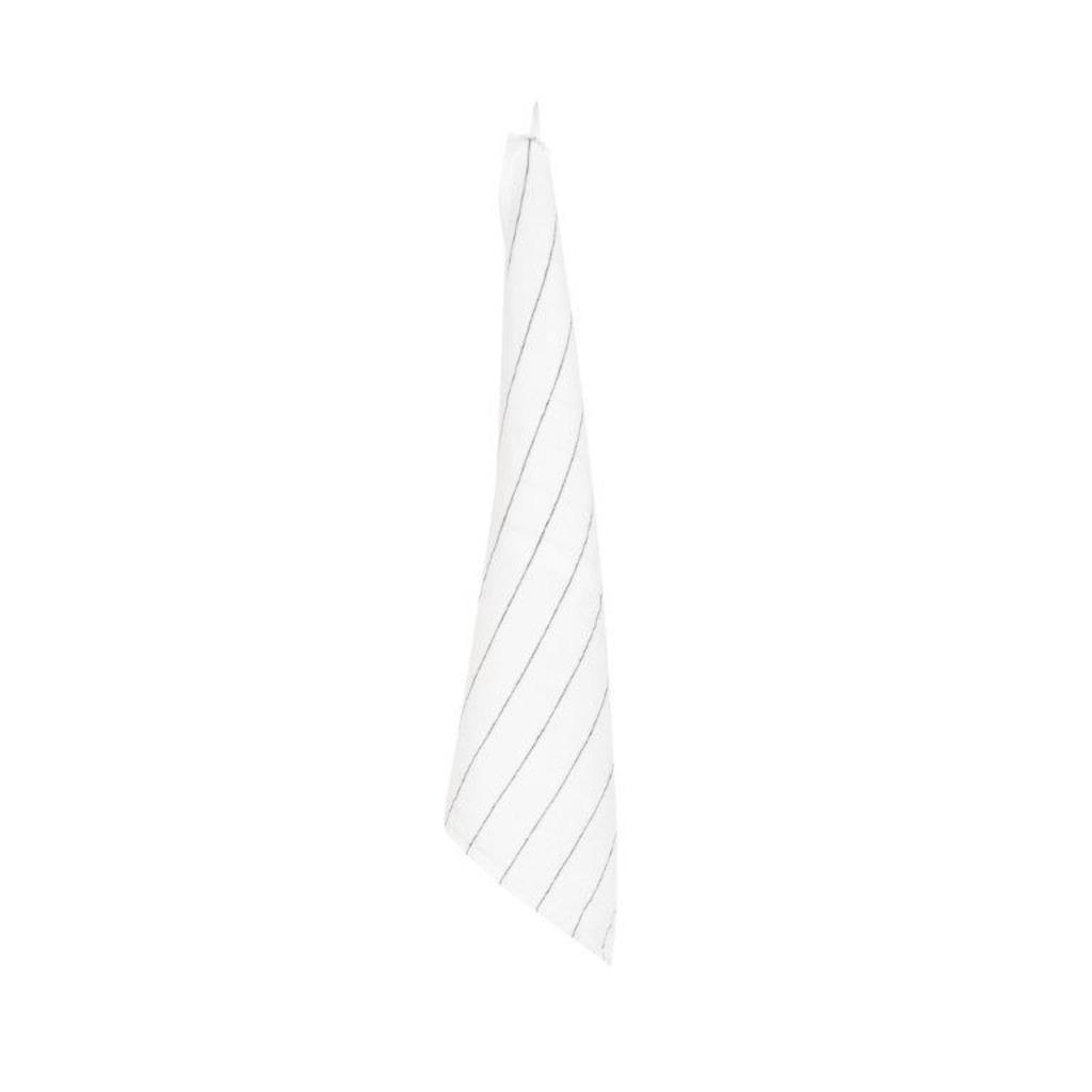TORCHON CALVI BLANC 46 x70cm ( Les 3 pièces)