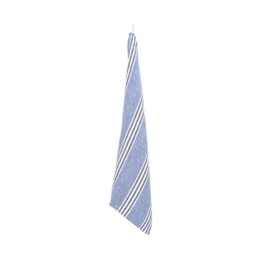 TORCHON CORTE INDIGO 46x 70cm (Les 3 pièces )
