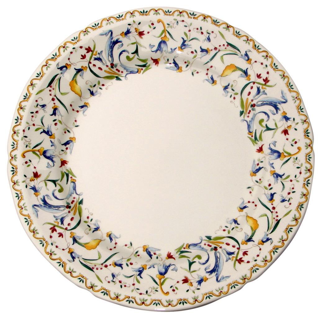 4 Assiettes plates extra TOSCANA diametre 28.5 cm