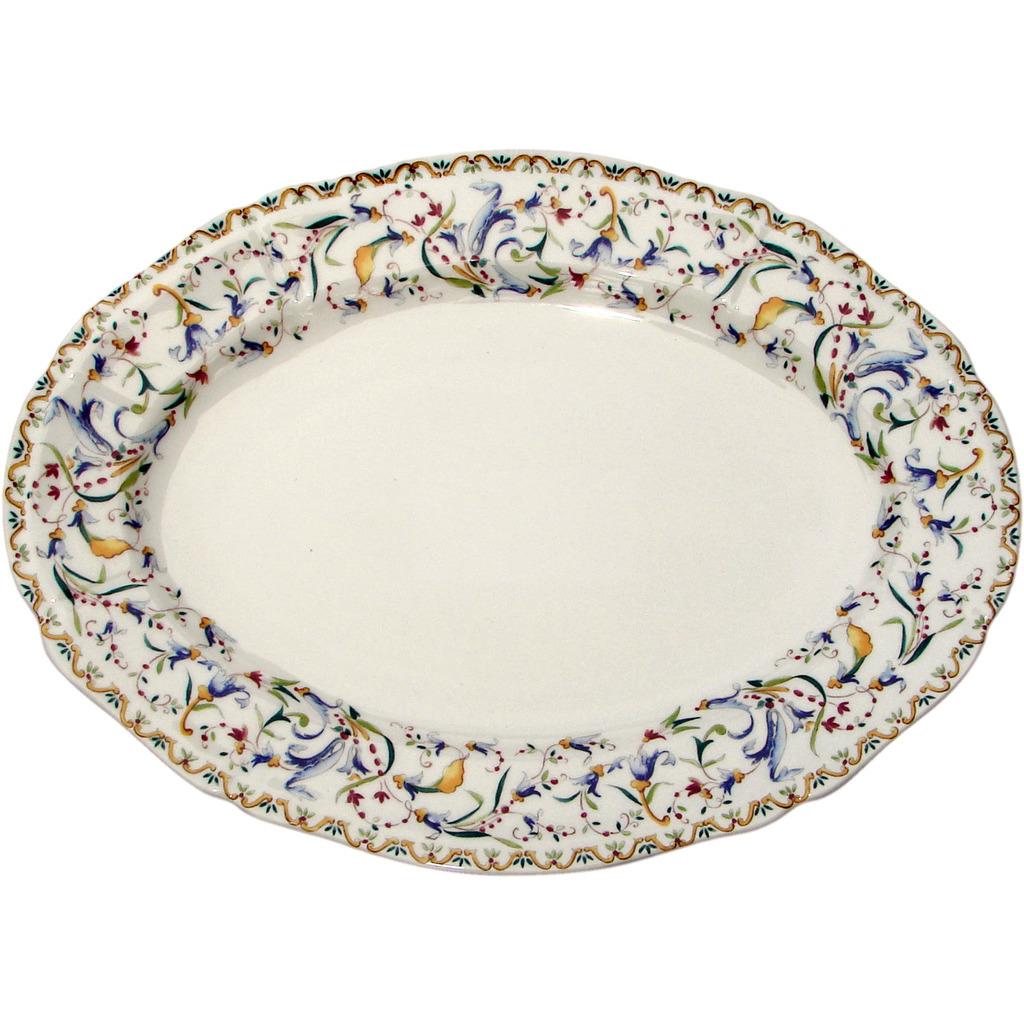 Plat ovale TOSCANA 34.5*25.3 cm