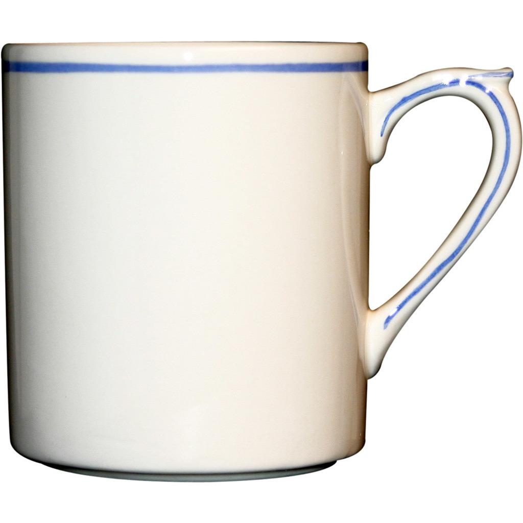 Mug FILET BLEU 25cl H 9.5 cm