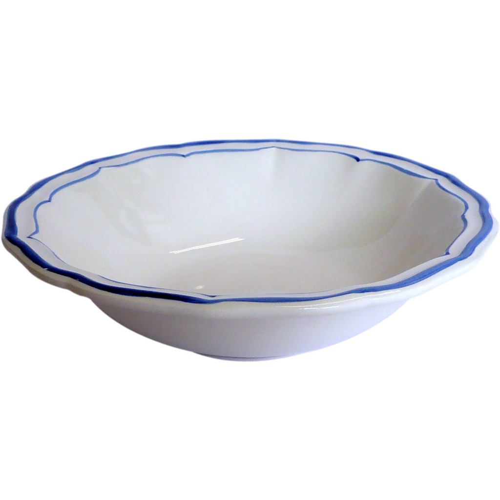 4 coupes individuelles FILET BLEU diametre 17 cm 35 cl