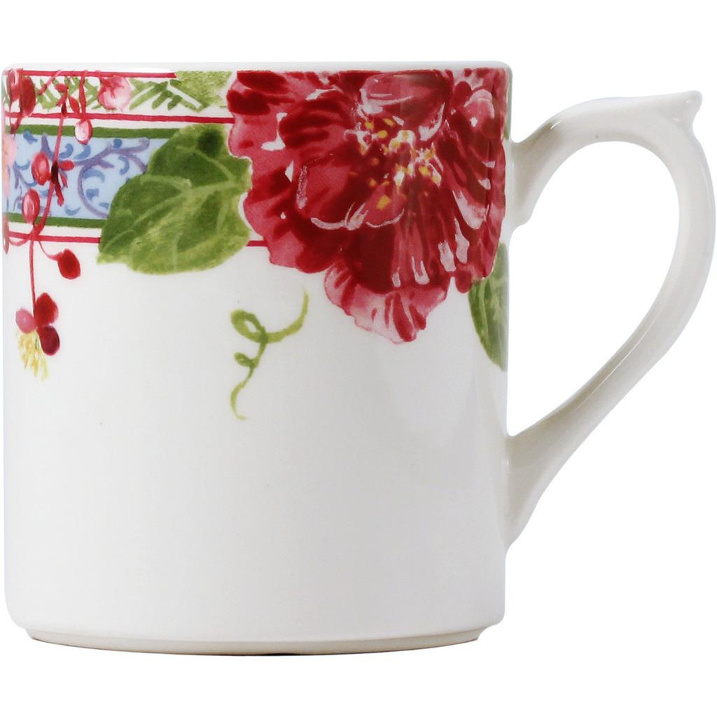Mug MILLE FLEURS - 30cl-Hauteur 9.3 cm