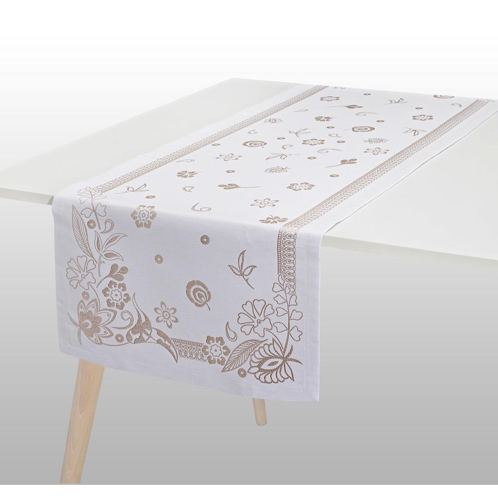 CHEMIN DE TABLE HAUTE COUTURE GOLD 55*150 cm/22*59 inches