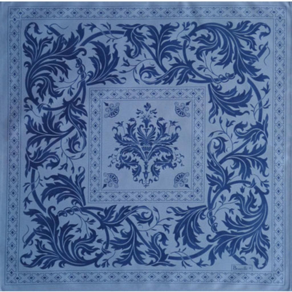 Serviette Topkapi Bleu 55*55