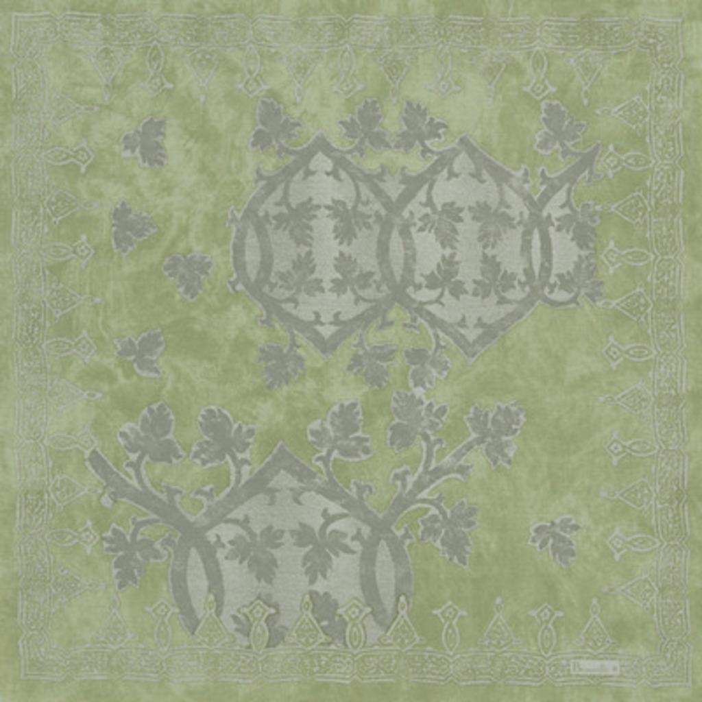 Serviette Rialto Vert de gris 55*55