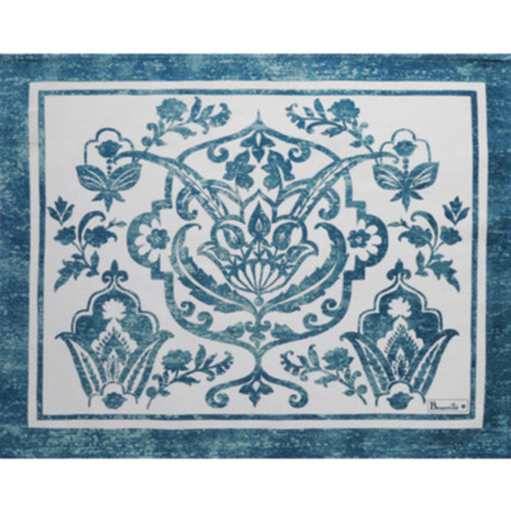 Set enduit St Tropez Bleu 38* 48 cm