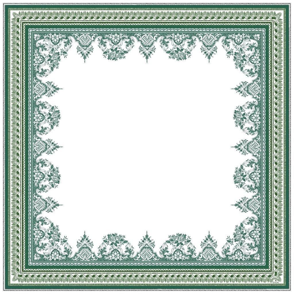 Nappe carree coton LES DEPAREILLEES 120*120 cm