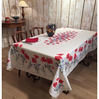 nappes proven ales en coton enduit linges de table par. Black Bedroom Furniture Sets. Home Design Ideas