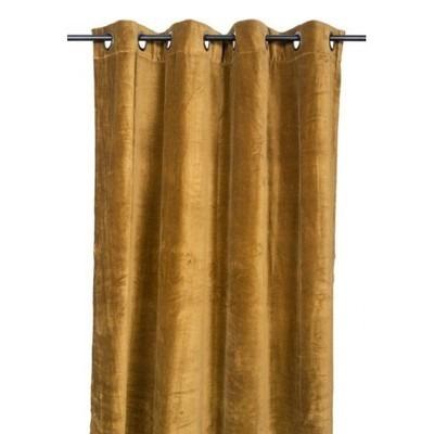 Rideaux en velours DEHLI bronze 135*300cm