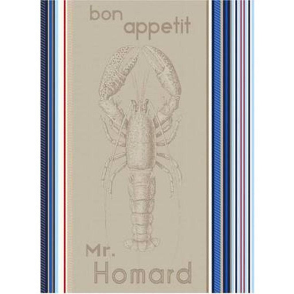 Torchon Homard  50*70 cm