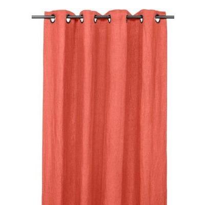 Rideaux en lin PROPRIANO  argile  140*280cm