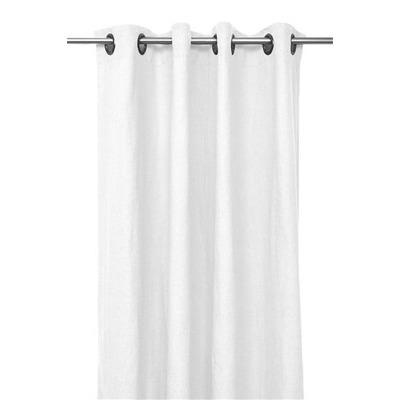 Rideaux en lin PROPRIANO blanc 140*280cm