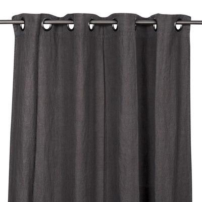 Rideaux en lin PROPRIANO charbon 140*280cm