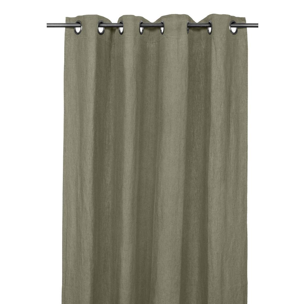Rideaux en lin PROPRIANO kaki 140*280cm