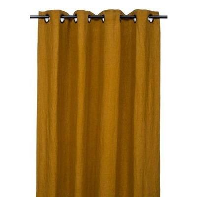 Rideaux en lin PROPRIANO chamois 140*280cm