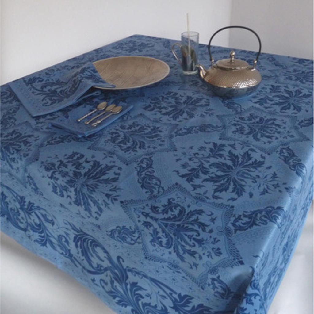 Nappe  Topkapi Bleu