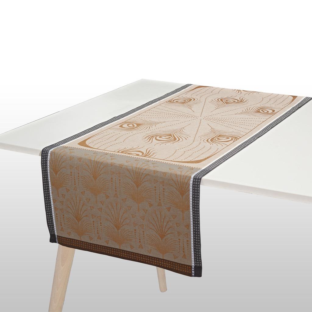 CHEMIN DE TABLE CABARET LUNE 55*150 cm/22*59 inches