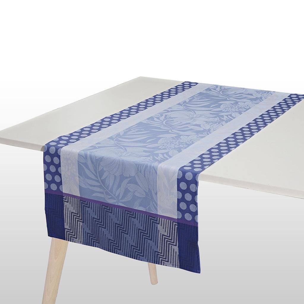 CHEMIN DE TABLE  NATURE URBAINE ELECTRIQUE 55*150 cm/22*59 inches