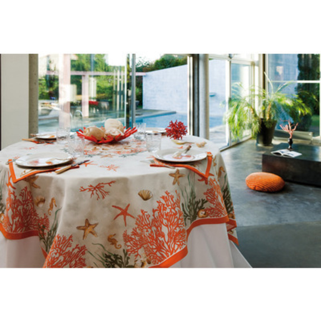 Nappe Corail rouge